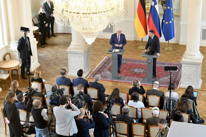 Second day of German president's official visit to Slovenia