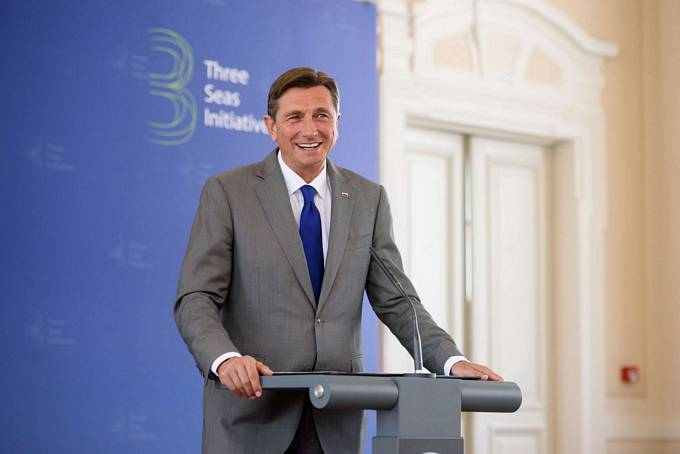 The President of the Republic of Slovenia Pahor is the host of the The Three Seas Initiative Summit in Slovenia