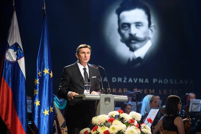 Speech delivered by the President of the Republic of Slovenia at the main state ceremony commemorating the Year of Cankar