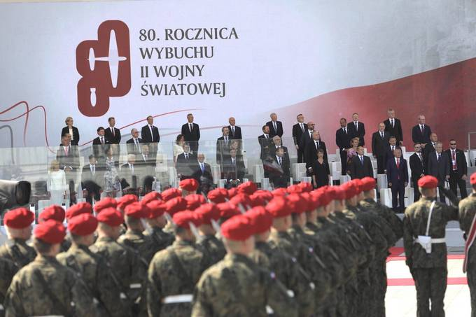 President Pahor attends a ceremony marking the 80th anniversary of the beginning of World War II
