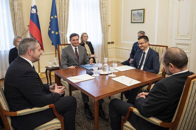 Traditional annual meeting of four Slovenian Presidents