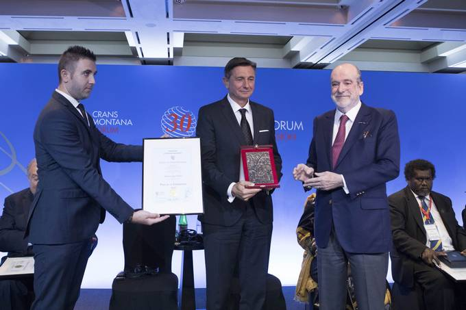 President Pahor's speech at the 30th Annual Session of Crans Montana Forum