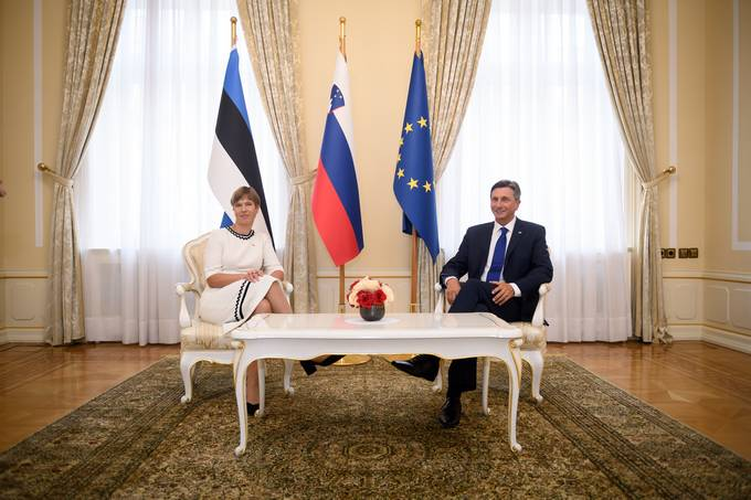 President Pahor on the official visit of the Estonian President: Slovenia and Estonia share a host of common outlooks for the future