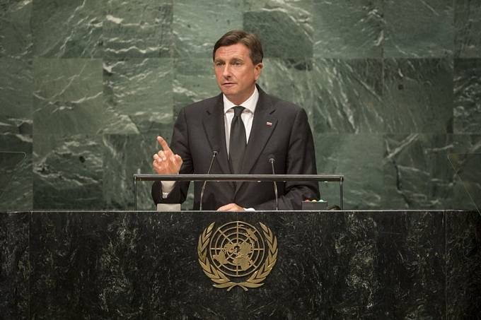 President of the Republic of Slovenia Borut Pahor at the 71th Session of the UN General Assembly