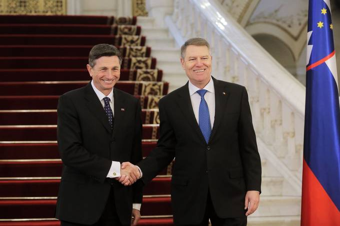 President Pahor congratulates Klaus Iohannis on his re-election as President of Romania in a telephone conversation