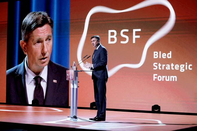 President Pahor at the opening of the 15th Bled Strategic Forum 2020 (BSF): Challenges and Opportunities in the Post-COVID–19 World